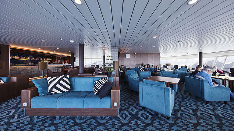 MS Nordkapp, Lounge